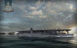 """Авианосец Японского Императорского флота """"Акаги""""."""