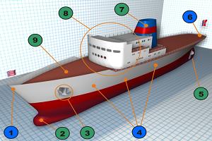 Корпус и планировка корабля