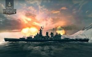 """Линейный корабль флота США Северная Каролина. (USS ВВ-55 """"North Carolina"""")"""